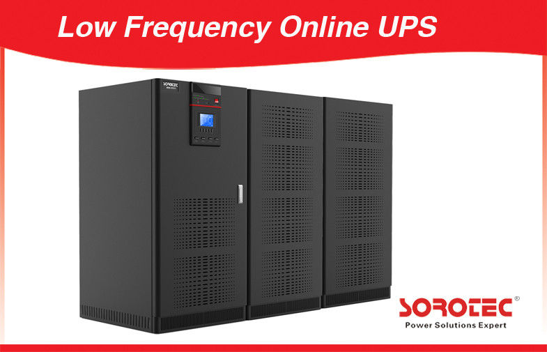 Output Power Factor 0.9 Low Frequency Online UPS  Series 120 - 800KVA 3Ph in / out